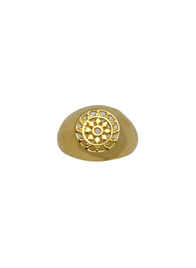 Universe ring gold