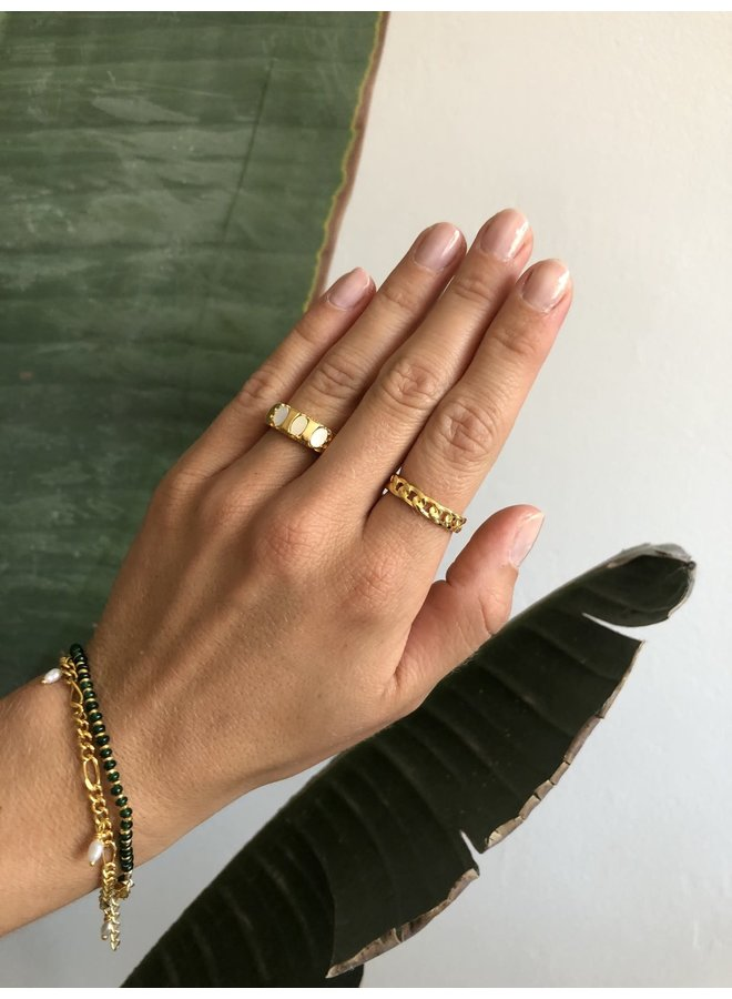 Vintage Mother of pearl ring