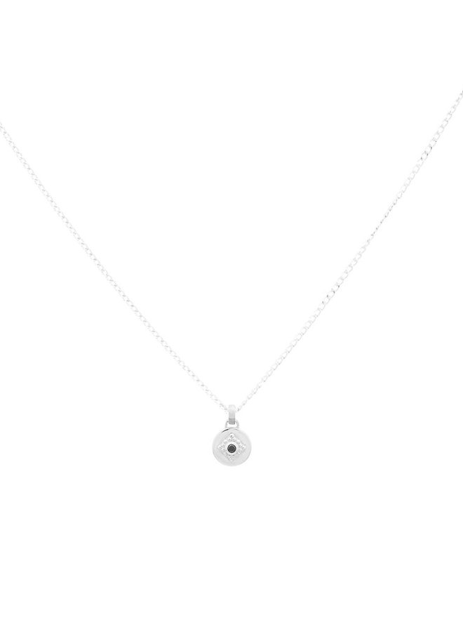 Ketting zilver - charm - 18 inch // 45,7 cm