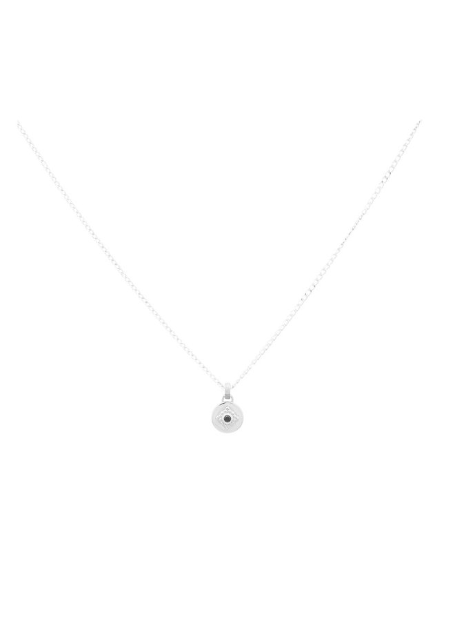 Ketting zilver - charm - 18 inch // 45,7 cm
