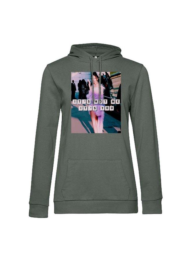 It's Not Me hoodie