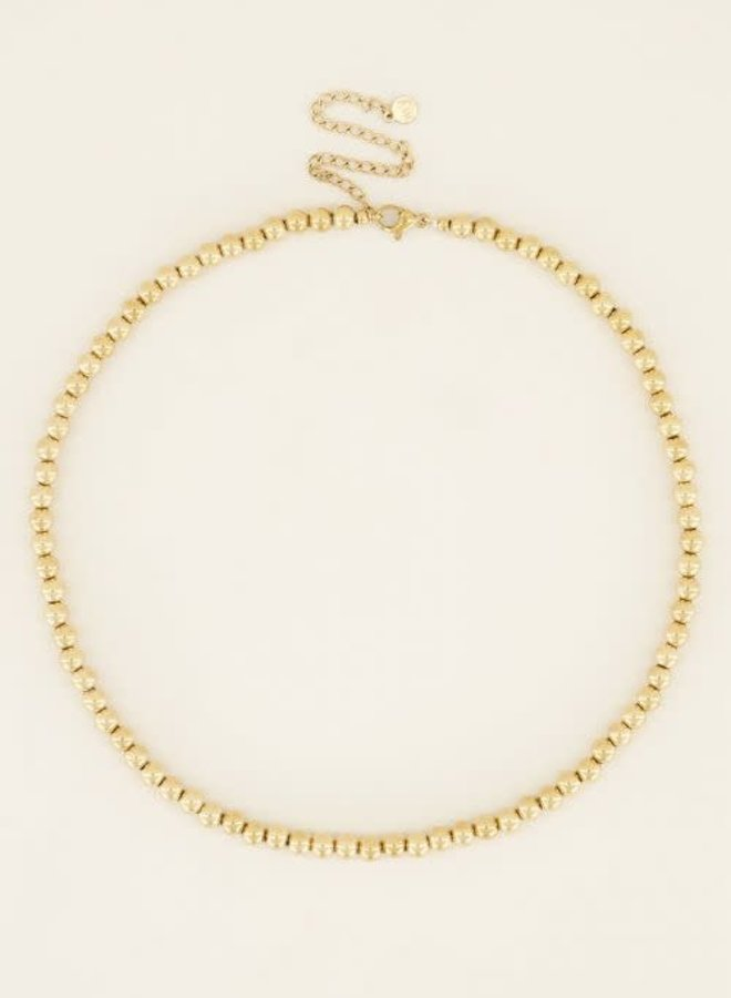 Ketting grote bolletjes