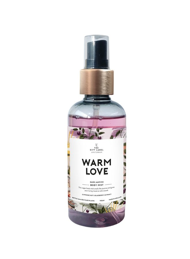 Body mist - Warm love (Dark Jasmin)
