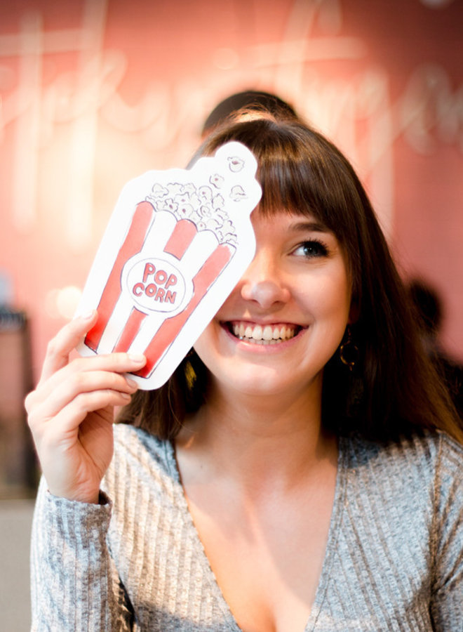 Cut out Cards - Popcorn