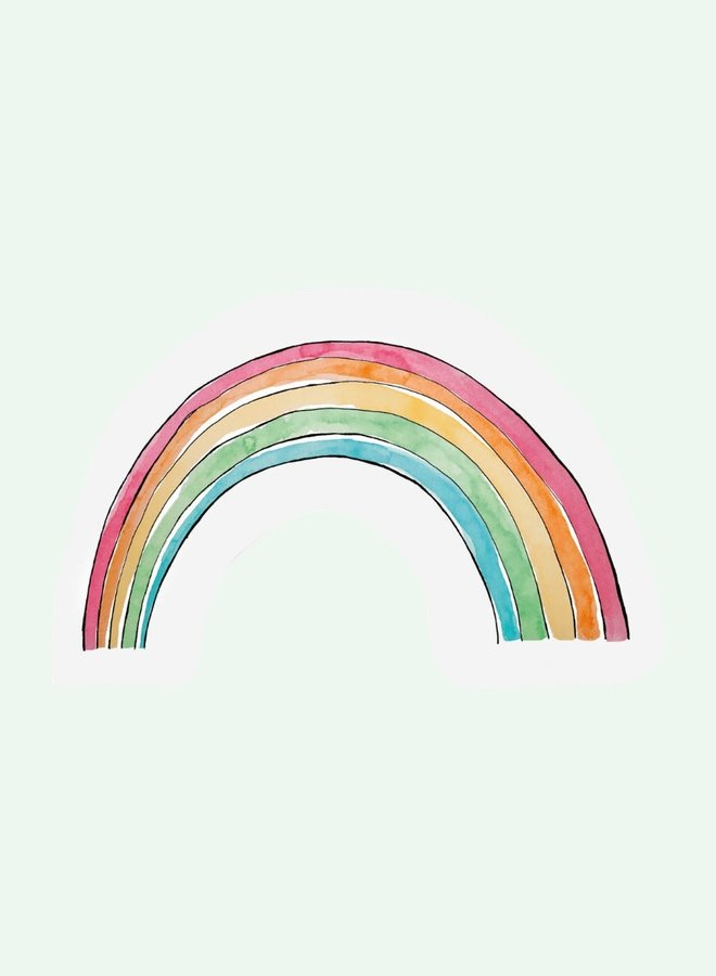 Cut out Cards - Rainbow