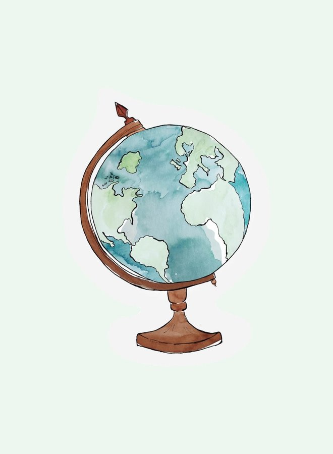 Cut out Cards - Globe