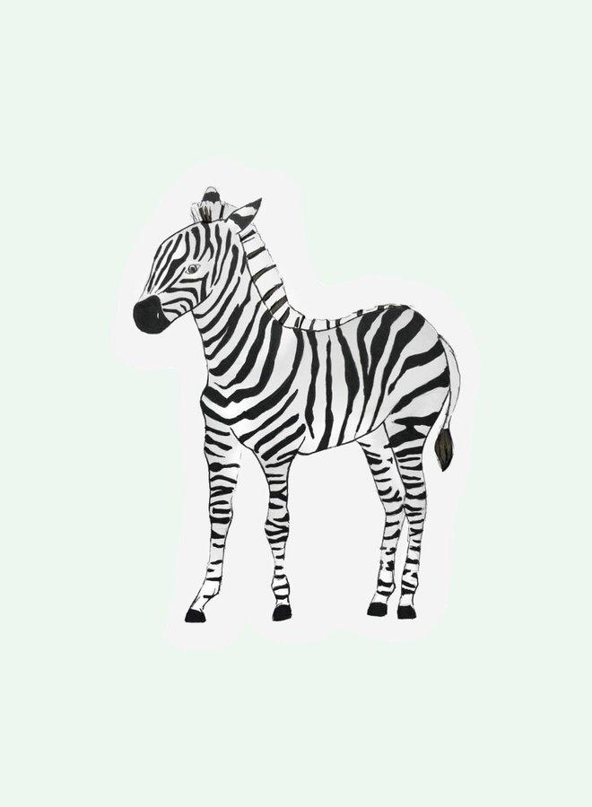 Cut out Cards - Zebra