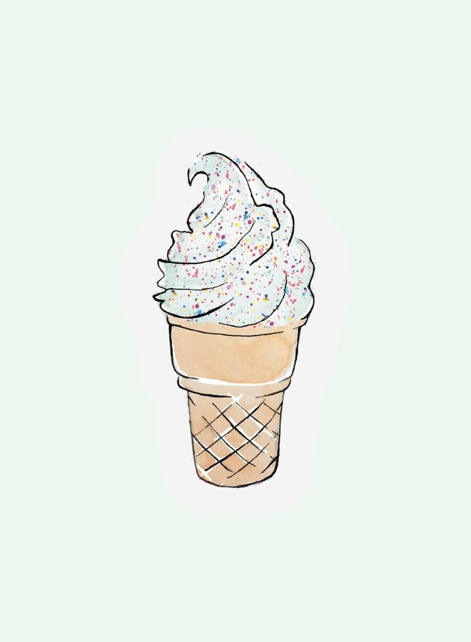Cut out Cards - Ice cream