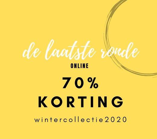 WINTER SALE 70% KORTING