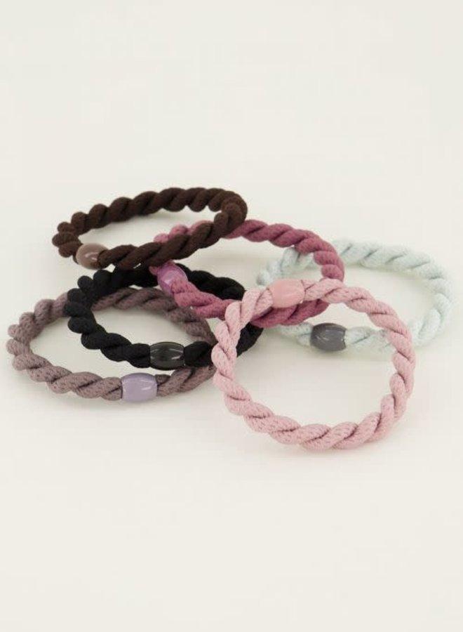 haarelastiekjes/armbanden