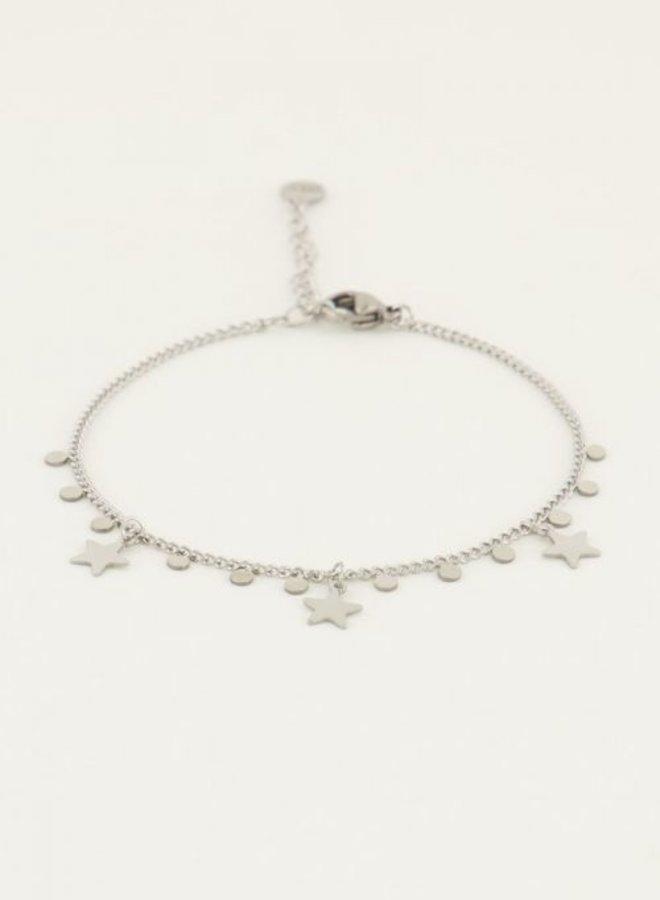 Armband sterren & bedels