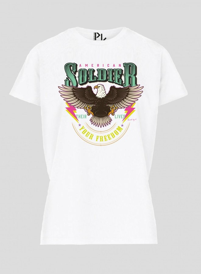 T-Shirt American Soldier