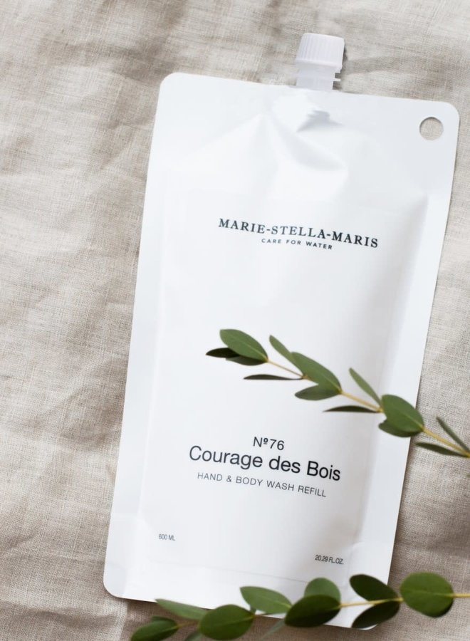 Hand & Body Wash Courage des Bois Refill 600 ml
