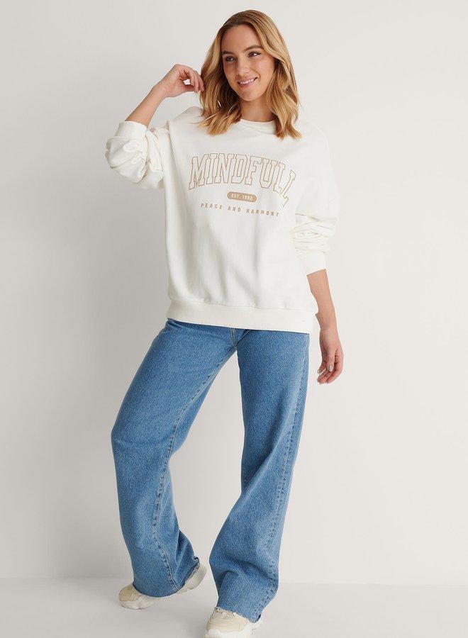 Mindfull Printed Sweater