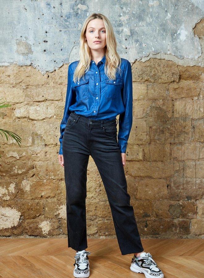 Toxik Mom Fit  jeans met stretch