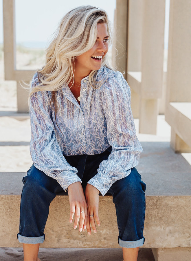 Buenos Aires Paisley Blouse
