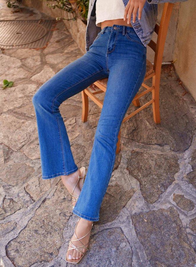 Emma flared Jeans Blue