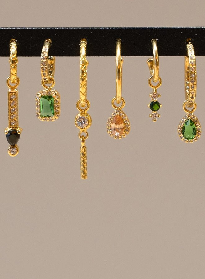 #33 Mix&Match single pendant gold plated sterling silver