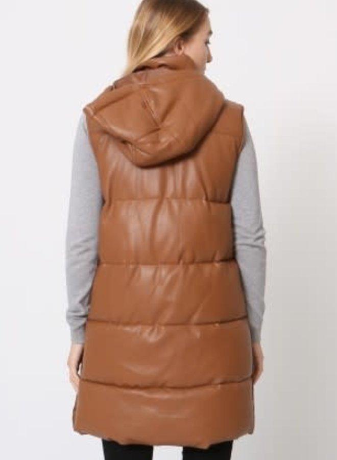 Bodywarmer Leatherlook