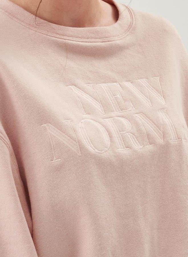 Sweatshirt 'New Normal'