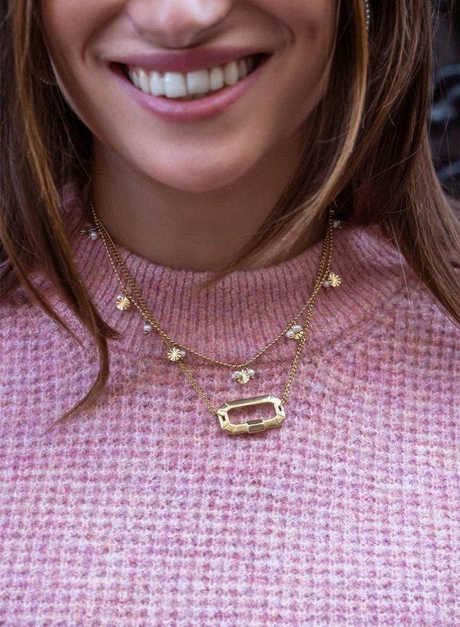Shapes ketting parels & rondjes