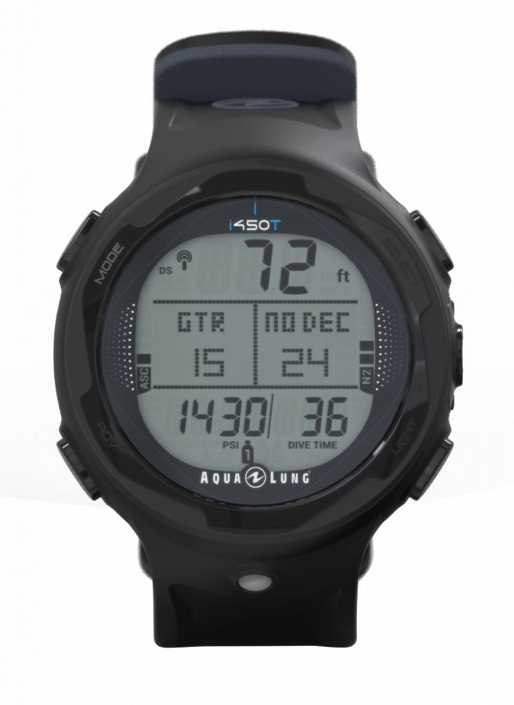 Aqua Lung i450 watch with USB-3