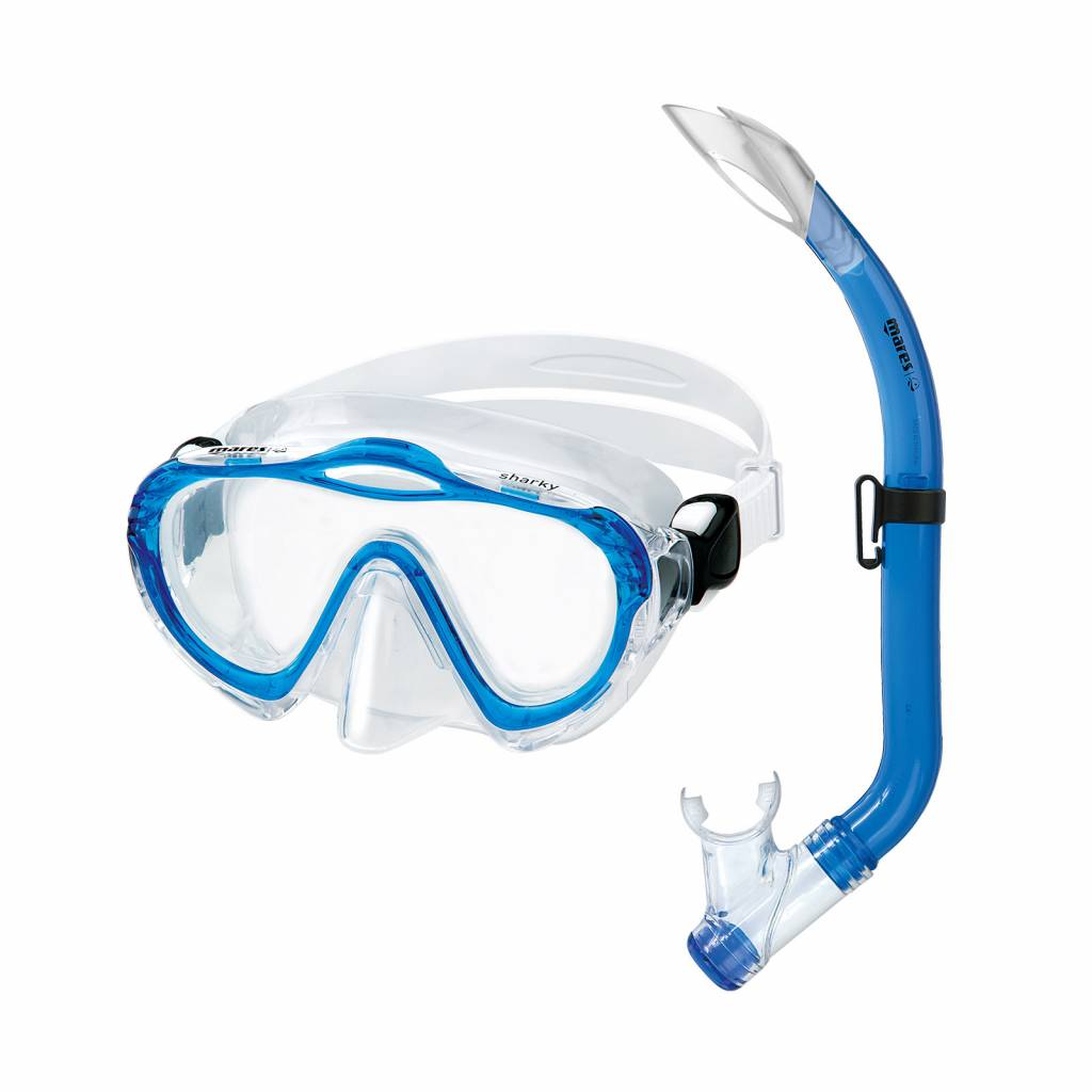 Mares Aquazone Sharky mask/snorkel set-1