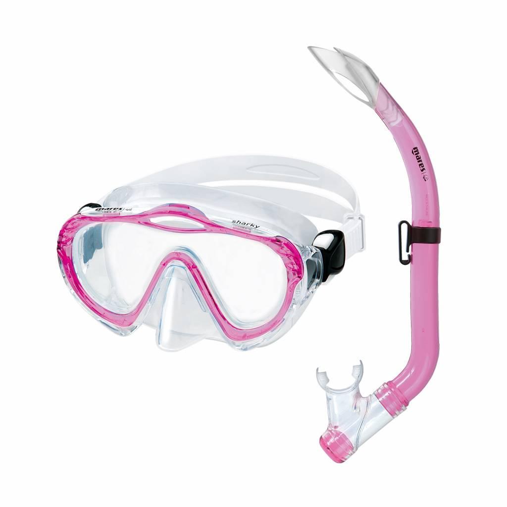 Mares Aquazone Sharky mask/snorkel set-2