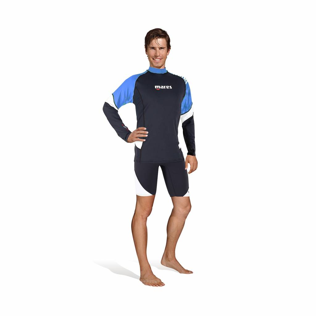 Mares Mens long sleeve rash guard - loose fit-1