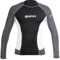 Mares Mens long sleeve rash guard - slim fit