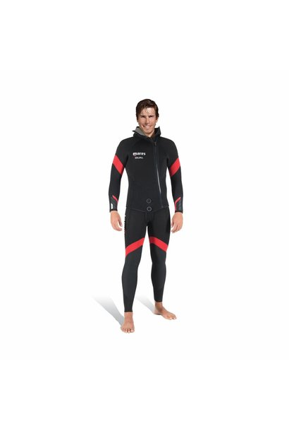 Mares Dual 5mm+5mm mens 2 piece wetsuit