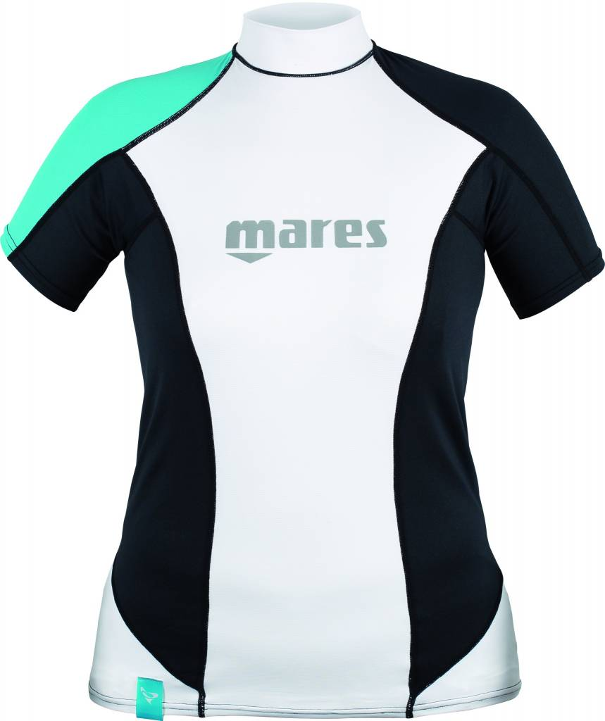 Mares She Dives short sleeve rash guard - loose fit-1