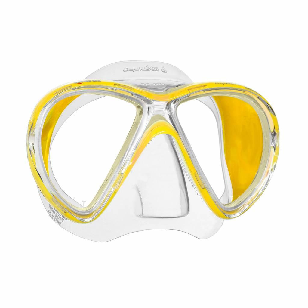 Mares X-Vu Liquidskin mask-4