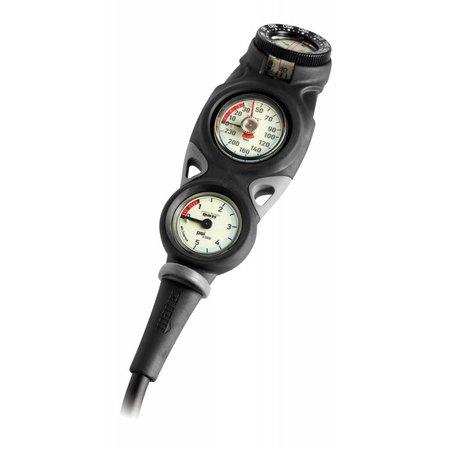 Mares Mares Instrument Mission 3 - pressure gauge, depth gauge and compass