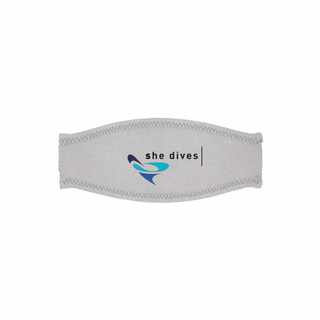 Mares Trialastic mask (comfort) strap cover - She Dives-1