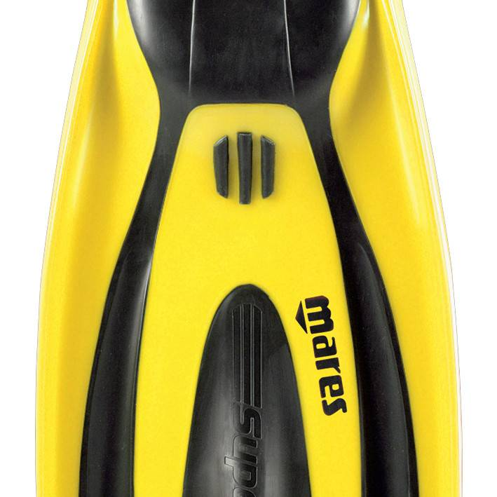 Mares Superchannel over heel fins with clip straps-7