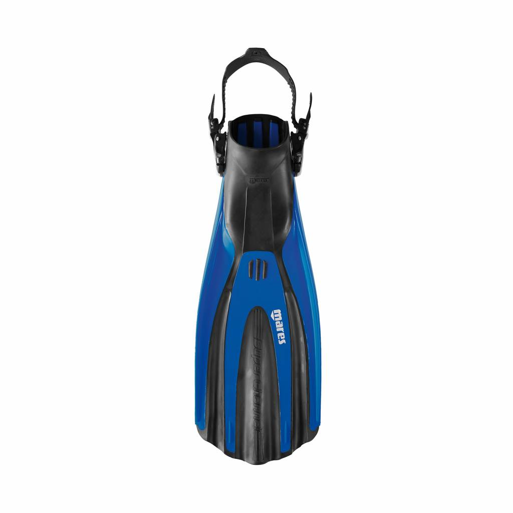 Mares Superchannel over heel fins with clip straps-8