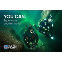 PADI Open Water Diver with Dry Suit Gift Card