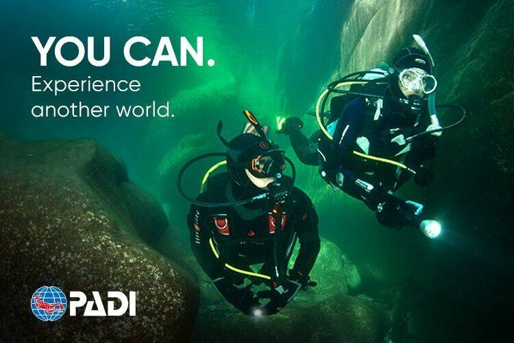 PADI PADI Open Water Diver with Dry Suit Gift Card