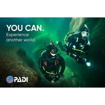 PADI Open Water Diver Gift Card