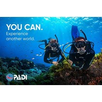 PADI Open Water Diver Gift Card - Part 1 (theory and pool) only