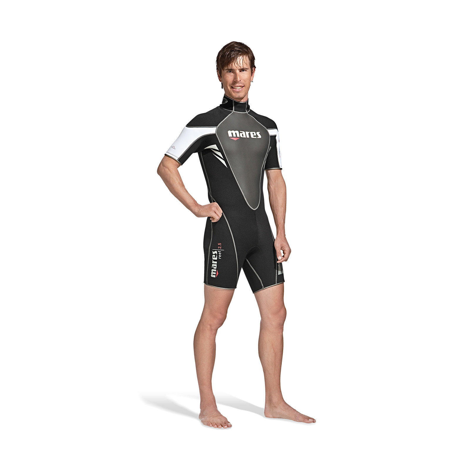 Mares Reef 2.5mm mens shorty wetsuit-3