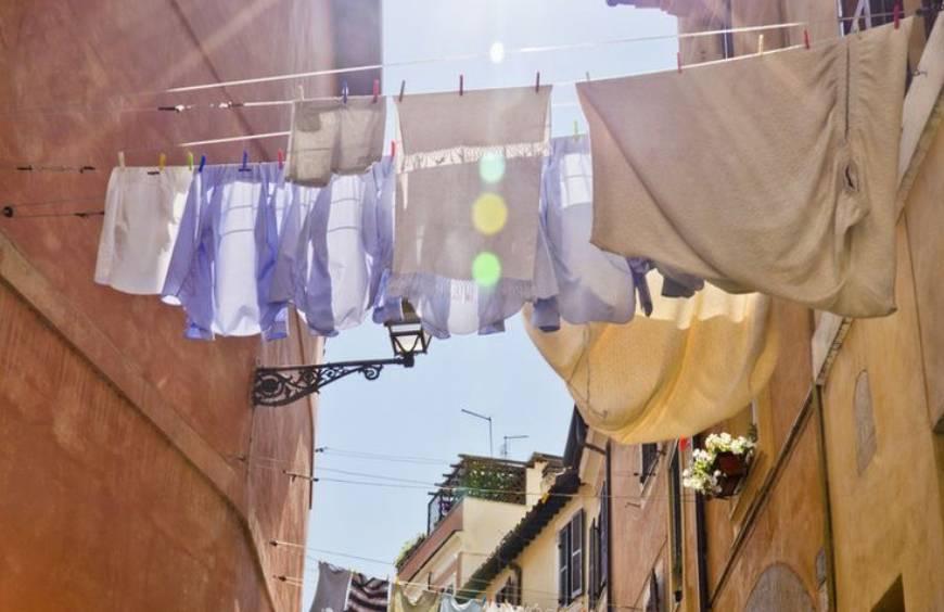 Maandag wasdag in Italië?