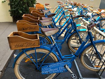 Op de fiets naar de wasserette