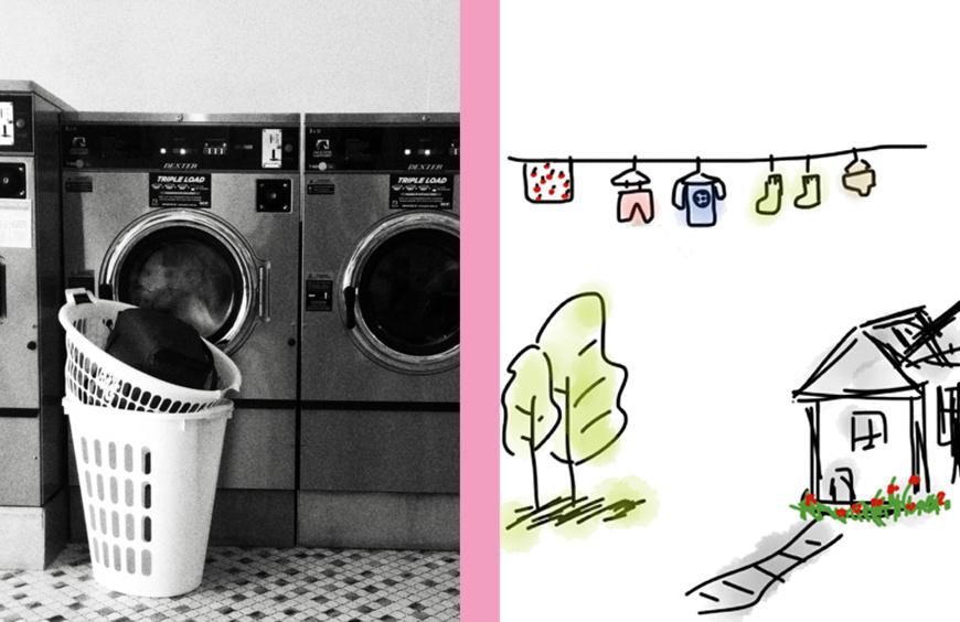 Huishouden organiseren - Start met de was doen