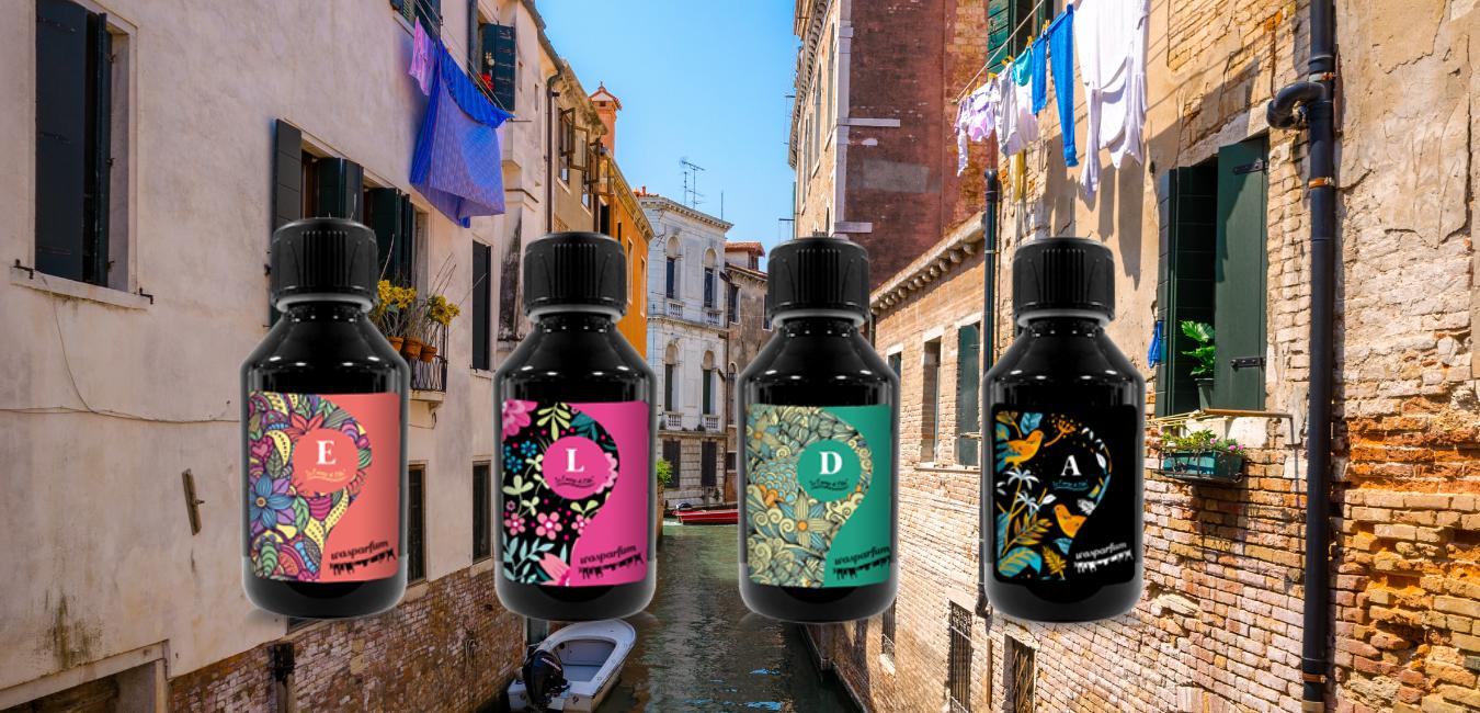 Het ontstaan van ELDA wasparfum! De echte geur van Italië