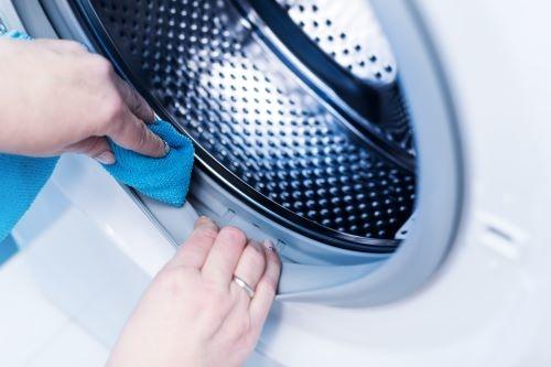 rubbers van wasmachine schoonmaken