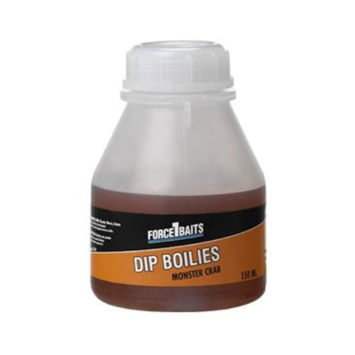 FORCE 1 BAITS DIP BOILIES MONSTER CRAB 150 ML
