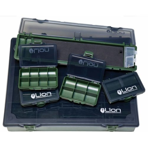 LION SPORTS COMPLETE TACKLE BOX LARGE