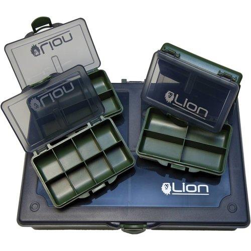 LION SPORTS COMPLETE TACKLE BOX MEDIUM